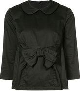 Comme des Garcons bow-embellished blouse - women - Cotton - S