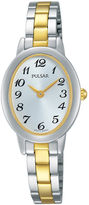 Pulsar Womens Two-Tone Stainless Steel Bracelet Watch