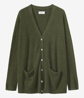 Toast Long Cashmere Wool Cardigan
