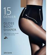 John Lewis 15 Denier Gloss Body Shaper Tights