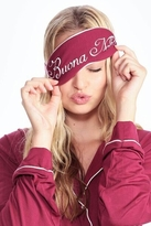 Wildfox Couture Buona Notte! Eyemask in Bordeaux
