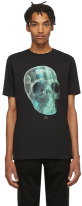 Paul Smith Black Crystal Skull T-Shirt