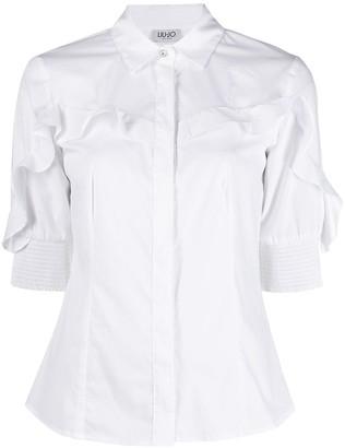 Liu Jo Ruffle-Trim Shirt