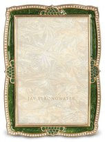 "Jay Strongwater Scallop 4"" x 6"" Frame"
