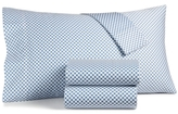 Charter Club Damask Designs Damask Designs Woven Stripe Taupe 300-Thread Count Bedding Collection, Created for Macy's