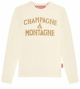 MC2 Saint Barth Champagne & Montagne White Womans Sweater