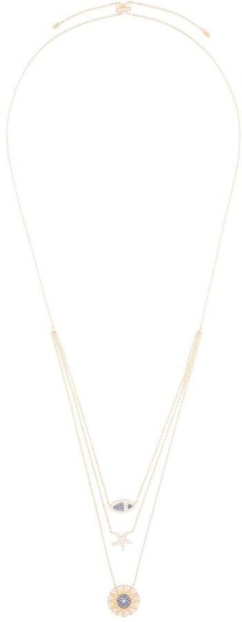 Tropical Sea triple adjustable necklace
