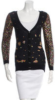 Prabal Gurung Sequined Cashmere Cardigan w/ Tags