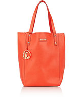 Just Cavalli WOMEN'S LEATHER TOTE-RED