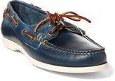 Ralph Lauren Telford Calfskin Boat Shoe