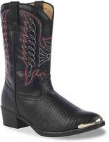 Durango Embossed Toddler & Youth Cowboy Boot - Girl's