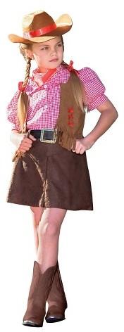 BuySeasons Girl's Gunslinger Costume