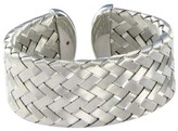 Roberto Coin 925 Sterling Silver Woven Cuff Bracelet