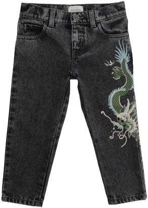 Gucci Grey Denim - Jeans Trousers