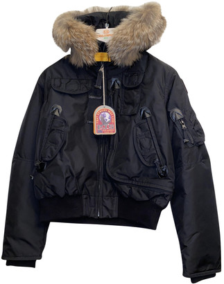 Parajumpers Black Fur Jackets