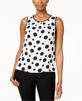 Nine West Dot-Print Shell