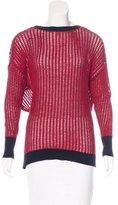 Derek Lam 10 Crosby Open Back Knit Sweater
