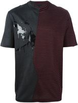 Lanvin split pattern T-shirt