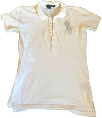 Polo Ralph Lauren White Cotton Top for Women