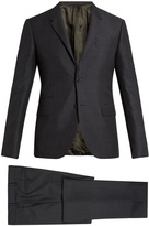 Valentino Notch-lapel mohair and wool-blend suit