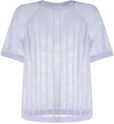 Filippa K Soft Sport mesh knit T-shirt