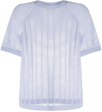 Filippa K Soft Sport mesh knit T-shirt
