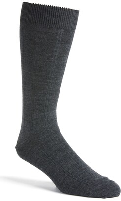 Nordstrom Rib Wool Blend Dress Socks