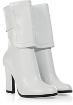 Jil Sander White Leather Boots
