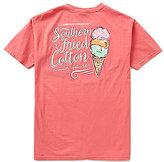 Southern Fried Cotton Mens 3 Scoops Pocket Graphic Tee