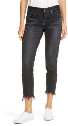Moussy Staley Tapered Ankle Jeans
