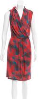 Costello Tagliapietra Printed Sleeveless Dress