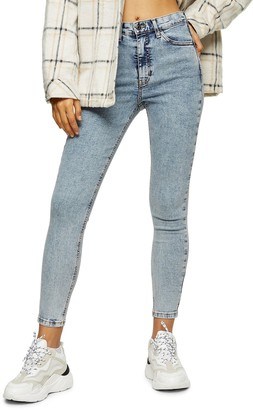 Topshop Bleach Acid Jamie Jeans
