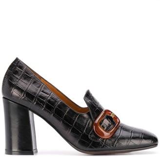 Chie Mihara Radis crocodile-effect loafers