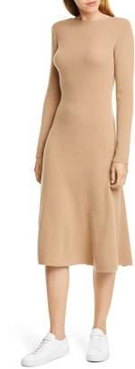 Nordstrom Signature Long Sleeve Cashmere Blend Sweater Dress