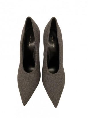Dries Van Noten Grey Cloth Heels