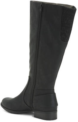 Wide Width And Calf Riding Boots
