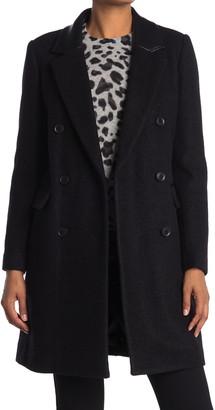 BCBGMAXAZRIA Double Breasted Coat