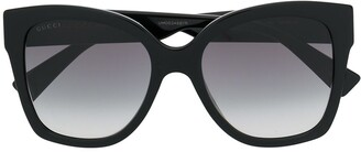 Gucci Oversized Cat Eye Sunglasses