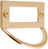 Rejuvenation Brass Pull with Label Holder