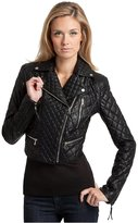 GUESS by Marciano Faux-Leather Quilted Jacket
