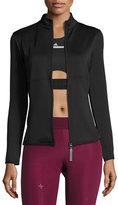 Stella McCartney The Midlayer Zip-Front Jacket, Black