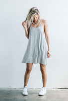 Joah Brown - Free Me Dress Tank In Grey