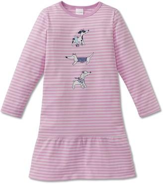Schiesser Girl's Puppy Love Nachthemd 1/1 Nightie