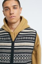 Urban Outfitters Iets Frans... iets frans. Trevor Tapestry Gilet - Assorted S at