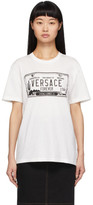 Versace White License Plate T-Shirt
