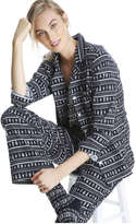 Joe Fresh Women's Flannel Sleep Set, Print 4 (Size M)