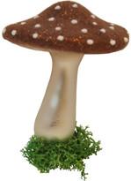 Christmas Shop Mushroom Large Brown Ornament