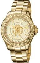 Roberto Cavalli Womens Gold Watch With Champagne Dial.