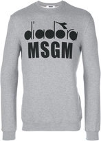 MSGM x Diadora graphic printed sweatshirt - men - Cotton/Viscose - S