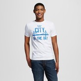 """San Francisco Local Pride by Todd Snyder Men's """"City By The Bay"""" Tee - White"""